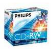 Philips CDRW-80 (12x) 10pk Slim Jewel Case