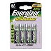 ENERGIZER Rechargeable AA Power - 4 Pack