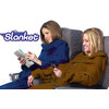 Travel Slanket Blanket With Sleeves Chocolate