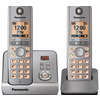 Panasonic KX-TG6722EM Cordless Phone with Answering Machine - Twin handsets
