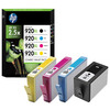 HP 920XL 4-pack High Yield Black/Cyan/Magenta/Yellow Original Ink Cartridges (C2N92AE)