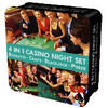 4 in 1 night set (Roulette.Craps.Blackjack.Poker. 14+)