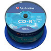 Verbatim 43327 - 10PK 80Min 52X Crystal CD-R JC