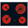 Miele KM5600 4 Zone Touch Control Ceramic Hob Stainless Steel Frame