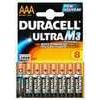 Duracell AAAK4M3 Ultra Batteries pack of 4 RO3A/LR03 (DURAAAK4UM3)