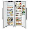 Liebherr SBSes7263 American Fridge Freezer - Stainless Steel