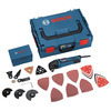 Bosch Professional Multi-Cutter Pro Kit in L-Boxx with Accessories (48 Pieces)