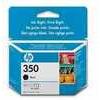 HP 350 Black Ink Cartridge, Black