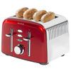 Breville VTT475 Aurora Stainless Steel 4 Slice Toaster, Shimmer Red