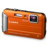 Panasonic Lumix DMC-FT30EB-D Waterproof Action Camera - Orange (16 MP, 4x Optical Zoom)