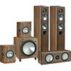 Monitor Audio Bronze 5AV10 Walnut 5.1 Speaker Package