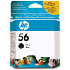"HP 56. Printing colours: Black, Page yield: 520 pages, BCP bubble graphic colour: black. Width: 14 cm, Depth: 11.2 cm, Height: 3.5 cm. Package weight: 80g, Package dimensions (WxDxH): 141 x 37 x 113 mm. Ink drop: 17 pl, Print head swath: 8.38 mm (0.33""),"