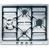 Smeg SER60SGH3 60cm Classic Gas Hob in Stainless Steel