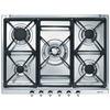 70cm Classic 5 Burner Gas Hob c/w Cast Iron Pan Supports (SE70SGH)