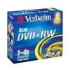 Verbatim 4x DVD+RW 8cm 5 Pack