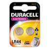 Blister 2 Pieces DURACELL 1.5 V LR44 Batteries
