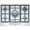 Siemens iQ300 EC715RB90E Gas Hob - Stainless Steel, Stainless Steel