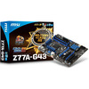 MSI Z77A-G43 Motherboard Core i3/i5/i7/Pentium/Celeron LGA1155 Intel Z77 ATX RAID Gigabit LAN