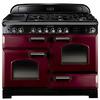 Rangemaster CDL110DFFCR/C Range Cookers Cream / Chrome