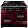 Rangemaster CDL110DFFCY/C Range Cookers Cranberry / Chrome