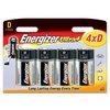 Energizer Ultra+ Batteries D - Pack of 4