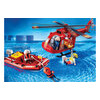 Boat and Helicopter rescue Playmobil