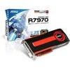 MSI R 7970-2PMD3GD5 Video Graphics Card AMD Radeon HD 7970 Grafikkarte (3 GB, GDDR5, 2 x Mini DisplayPort/HDMI/DVI-I